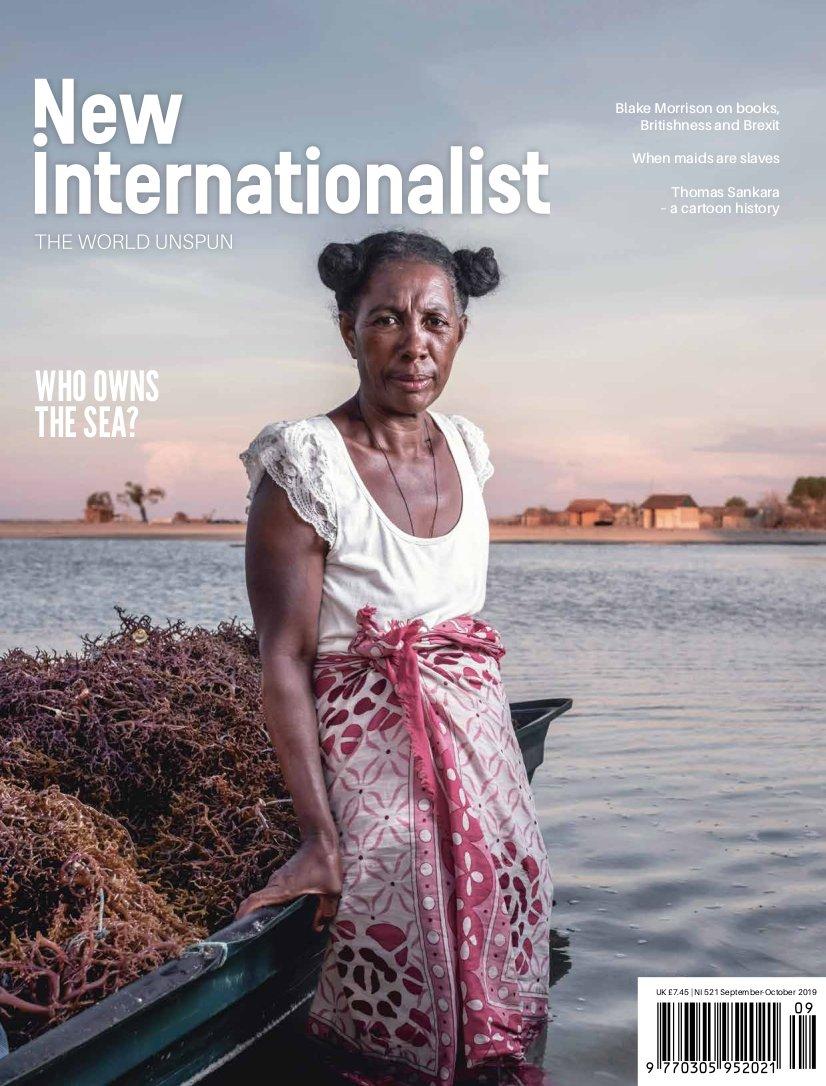 New Internationalist issue 521 magazine cover