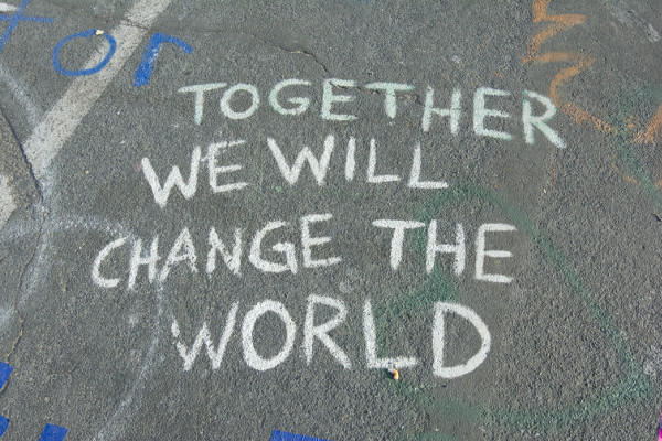 Together We Will Change The World